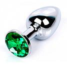 Малая втулка с зелёным кристаллом